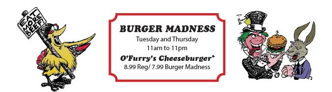 O'Furry's Burger Madness
